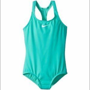 Nike Core Solid Racerback Tank Girl's Swimsuit